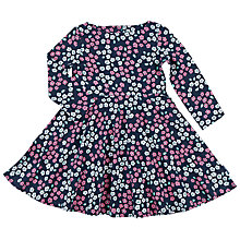Buy Polarn O. Pyret Baby Floral Dress, Blue Online at johnlewis.com