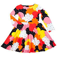 Buy Polarn O. Pyret Children's Retro Dress, Black Online at johnlewis.com