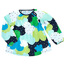 Buy Polarn O. Pyret Children's Retro Tunic Top, Blue Online at johnlewis.com