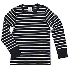 Buy Polarn O. Pyret Boys' Striped Top Online at johnlewis.com