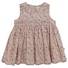 Buy Wheat Baby Eila Print Dress, Natural Online at johnlewis.com