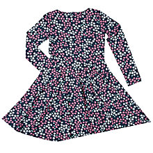 Buy Polarn O. Pyret Girls' Floral Dress, Blue Online at johnlewis.com