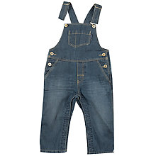 Buy Polarn O. Pyret Baby Dungarees, Blue Online at johnlewis.com