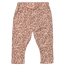 Buy Wheat Baby Bunny Print Baggy Leggings, Pink Online at johnlewis.com