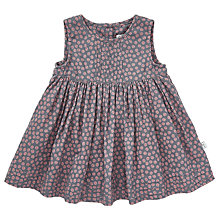 Buy Wheat Baby Mille Pinafore Dress, Grey Online at johnlewis.com