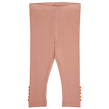 Buy Wheat Baby Ribbed Leggings Online at johnlewis.com