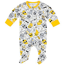 Buy Polarn O. Pyret Baby Ghost Sleepsuit Online at johnlewis.com