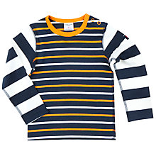 Buy Polarn O. Pyret Baby Striped Top, Multi Online at johnlewis.com