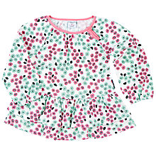 Buy Polarn O. Pyret Baby Floral Top, Multi Online at johnlewis.com