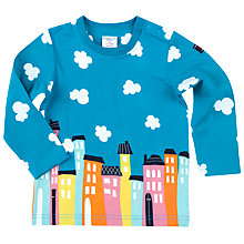 Buy Polarn O. Pyret Baby City Top, Blue Online at johnlewis.com