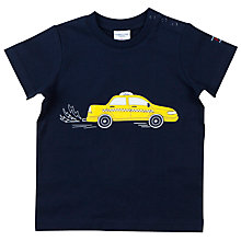 Buy Polarn O. Pyret Baby Taxi Top, Navy Online at johnlewis.com
