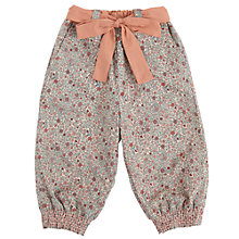Buy Wheat Baby Natural Print Trousers, Natural Online at johnlewis.com