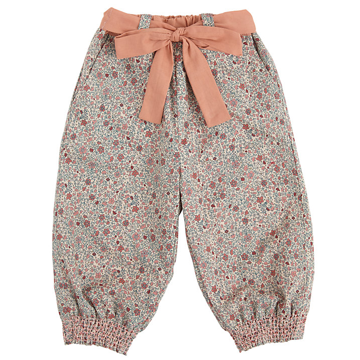 Buy Wheat Baby Natural Print Trousers, Natural, 18 months Online at johnlewis.com