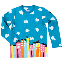 Buy Polarn O. Pyret Children's City Top, Blue Online at johnlewis.com