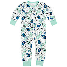 Buy Polarn O. Pyret Children's Ghost Pyjamas Online at johnlewis.com