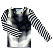 Buy Serendipity Baby Striped T-Shirt, Blue Online at johnlewis.com