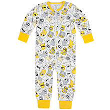 Buy Polarn O. Pyret Baby Ghost Sleepsuit, Multi Online at johnlewis.com