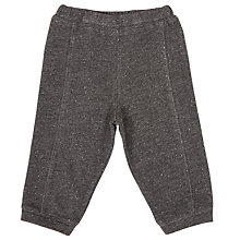 Buy Serendipity Baby Organic Cotton Sweat Trousers, Grey Online at johnlewis.com