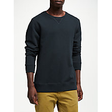 Buy Scotch & Soda Classic Crew Neck Jumper, Night Online at johnlewis.com