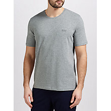 Buy BOSS Jersey Stretch Cotton Lounge T-Shirt, Grey Online at johnlewis.com