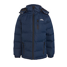 Buy Trespass Boys' Tuff Jacket, Navy Online at johnlewis.com