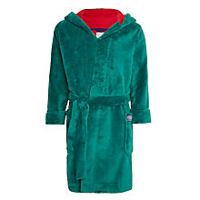 Buy Little Joule Children's Seeya Later Alligator Dressing Gown, Green Online at johnlewis.com