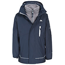 Buy Trespass Children's Prime 3-in-1 Waterproof Jacket, Navy Online at johnlewis.com
