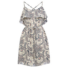 Buy Oasis Paisley Bardot Soft Shift Dress, Multi Online at johnlewis.com