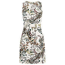 Buy Warehouse Meadow Floral Textured Dress, Multi Online at johnlewis.com