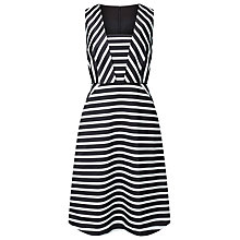 Buy Jacques Vert Striped Dress, Multi Online at johnlewis.com