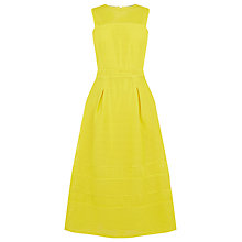 Buy Warehouse Formed Linear Prom Dress, Yellow Online at johnlewis.com