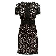 Buy Oasis Isla Lace Dress, Black Online at johnlewis.com