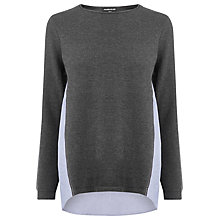 Buy Warehouse Cotton-Mix Hybrid Jumper Online at johnlewis.com
