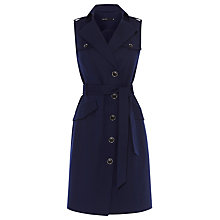 Buy Karen Millen Pocket Safari Dress, Navy Online at johnlewis.com