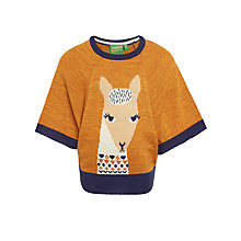 Buy Donna Wilson for John Lewis Llama Poncho, Yellow Online at johnlewis.com
