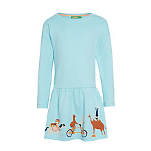 Buy Donna Wilson for John Lewis Circus Hem Dress, Blue Online at johnlewis.com