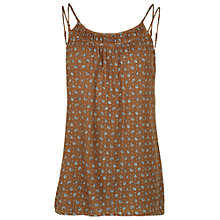 Buy Fat Face Tara Scatter Floral Cami Top, Demerara Online at johnlewis.com
