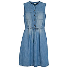 Buy Fat Face Denim Lauren Shirt Dress, Denim Online at johnlewis.com