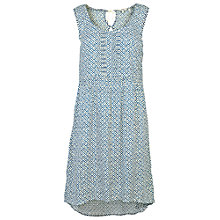 Buy Fat Face Sway Temple Geo Dress, Navy Online at johnlewis.com