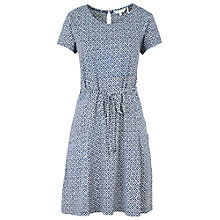 Buy Fat Face Ava Temple Geo Dress, Navy Online at johnlewis.com
