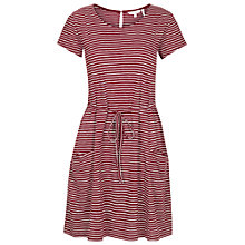 Buy Fat Face Ava Stripe Dress Online at johnlewis.com