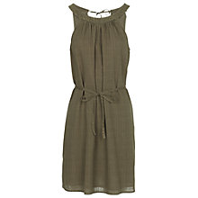 Buy Fat Face Felicity Garment Dye Dress, Seaweed Online at johnlewis.com