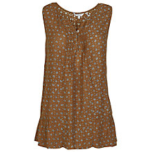 Buy Fat Face Juliet Scattered Floral Cami Top, Demerara Online at johnlewis.com