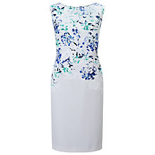 Buy Jacques Vert Falling Bloom Dress, Multi Blue Online at johnlewis.com