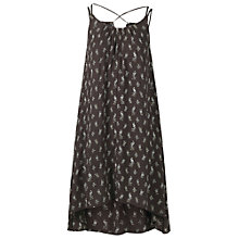Buy Fat Face Alice Peacock Dress, Phantom Online at johnlewis.com