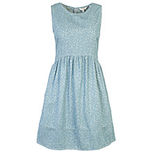 Buy Fat Face Iris Blossom Ditsy Dress, Steel Online at johnlewis.com