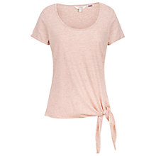 Buy Fat Face Clara Tie Side T-Shirt Online at johnlewis.com