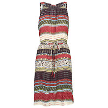 Buy Fat Face Felicity Artisan Patchwork Dress, Multi Online at johnlewis.com