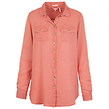 Buy Fat Face Boyfriend Garment Dye Shirt Online at johnlewis.com