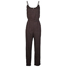 Buy Fat Face Jenny Flower Bud Jumpsuit, Phantom Online at johnlewis.com